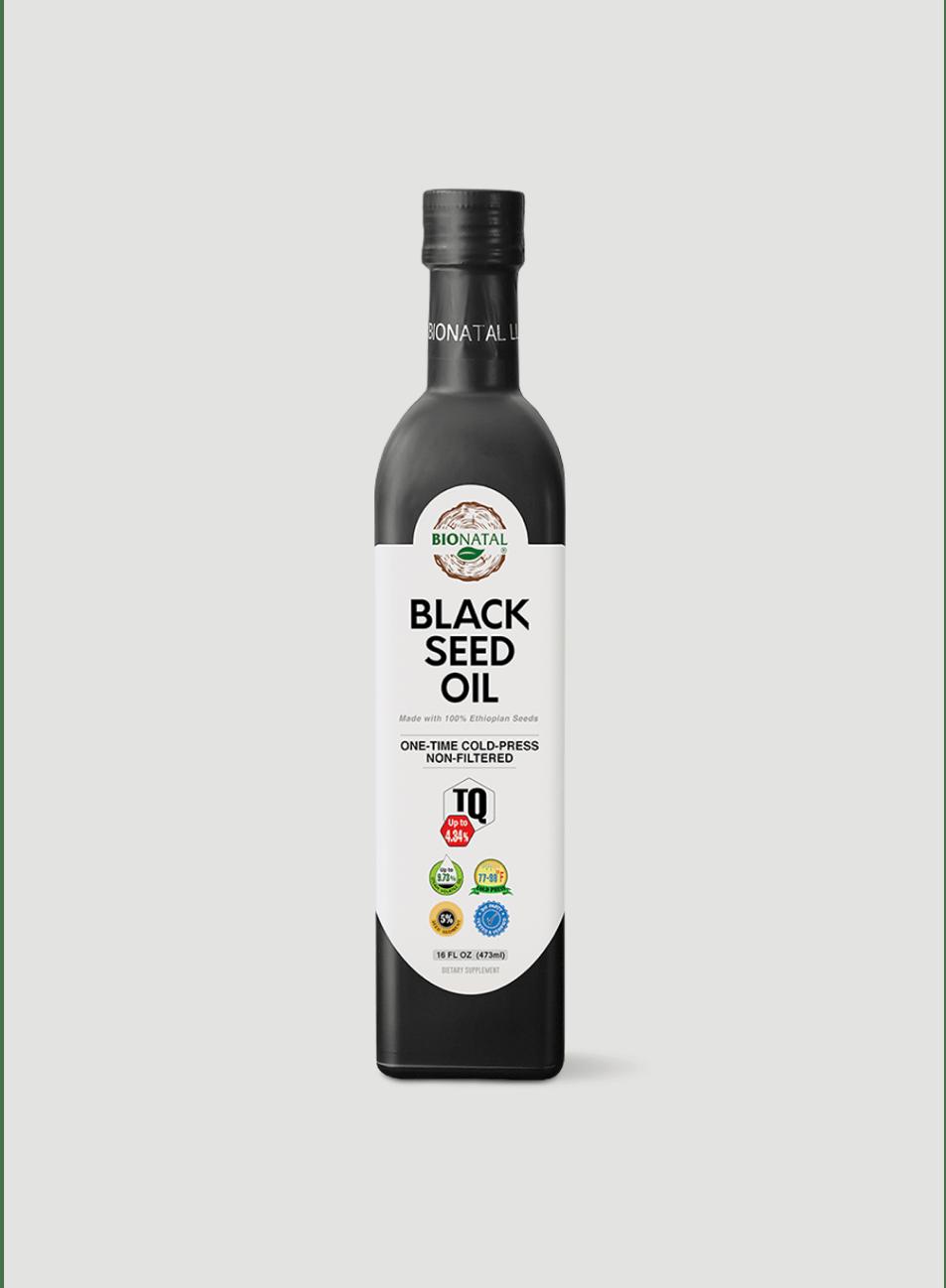 Ethiopian Black Seed Oil 16oz (GLASS)