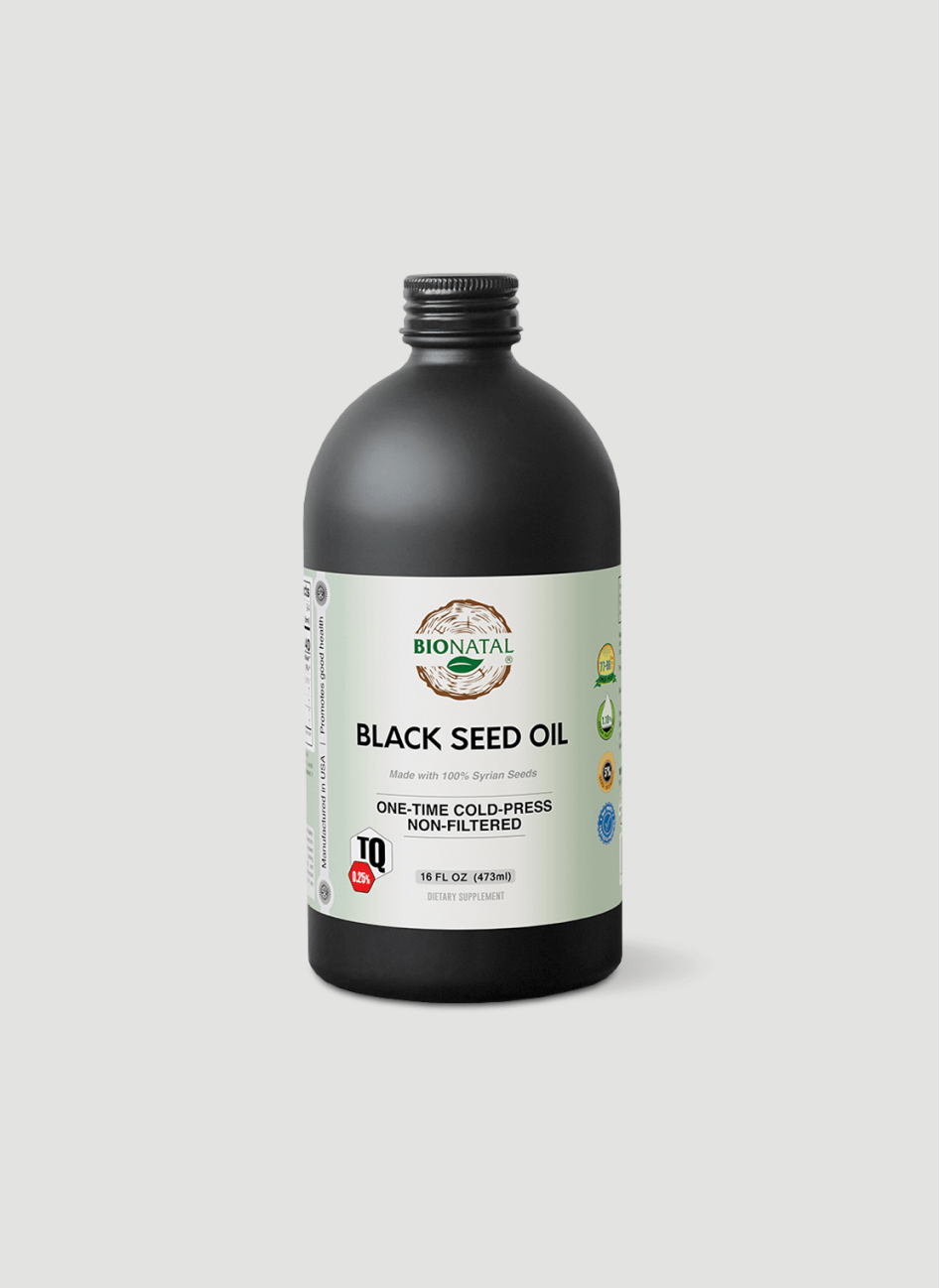 Middle Eastern Black Seed Oil 16oz (GLASS)
