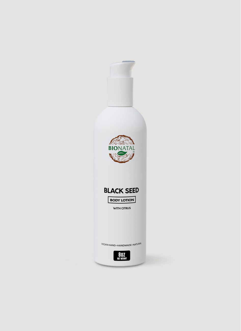 Black Seed Lotion with Citrus 8oz (Ethiopian Seeds)
