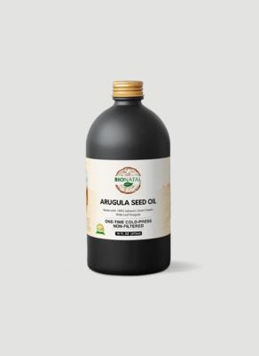 Egyptian desert Wide Leaf Arugula Seed Oil 16oz (GLASS)