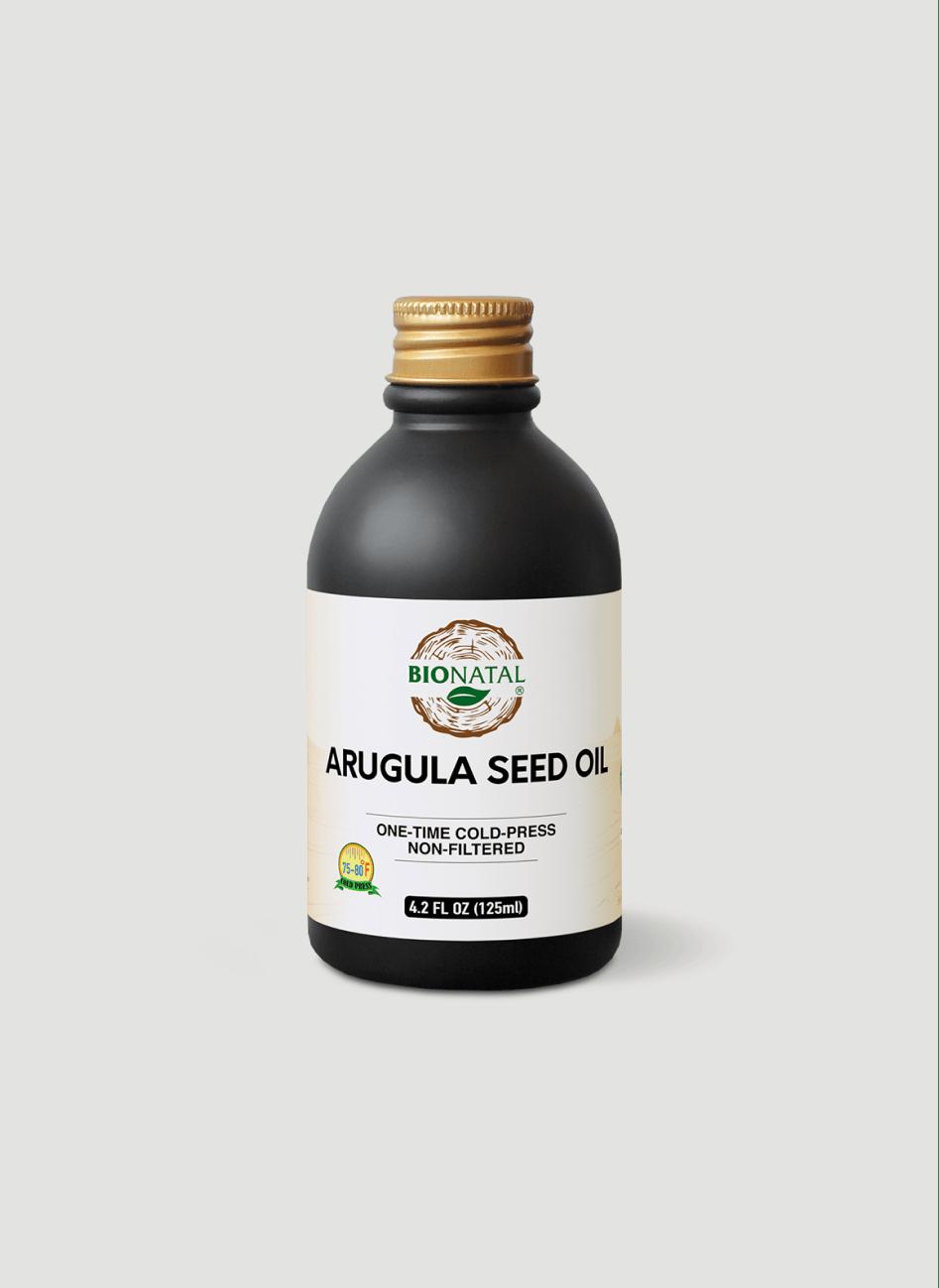 Egyptian desert Wide Leaf Arugula Seed Oil 4.2oz (GLASS)