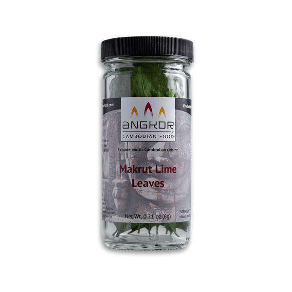 Whole Makrut Lime Leaves - 0.21 oz (6g)