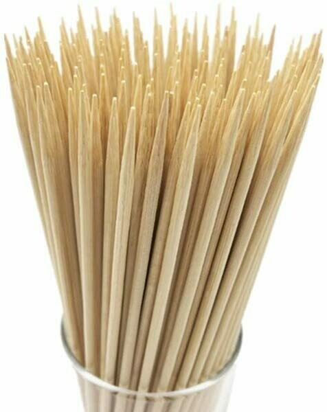 "10"" Bamboo Skewers (100 pieces)"