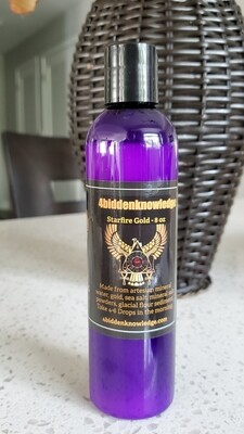 Alchemical Elixir of the Anunnaki - Starfire Gold - Liquid Ormes - 8 oz