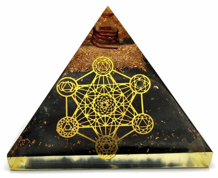 Orgone Pyramid | Tesseract | EMF Protection Orgone Pyramid | Meditation