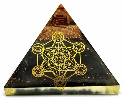 Orgone Pyramid   Tesseract   EMF Protection Orgone Pyramid   Meditation