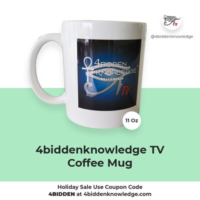 11 Oz 4biddenknowledge TV Coffee Mug