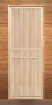 Дверь глухая липа (коробка осина) 1900х700