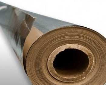 """Фольга алюминиевая на бумажной основе """"А"""" 1.2мХ15м.пог"""