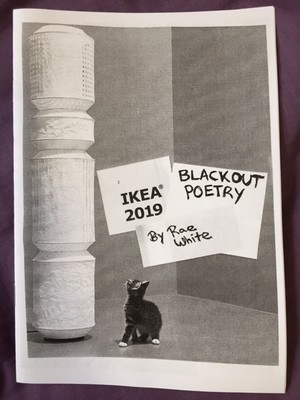 Poetry Zine - Ikea Blackout Poetry by Rae White