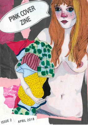 Poetry Zine - Pink Cover Zine #2 Let's Talk About Sex