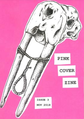 Poetry zine - Pink Cover Zine #3 Mementos