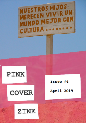Poetry Zine - Pink Cover Zine #4 South