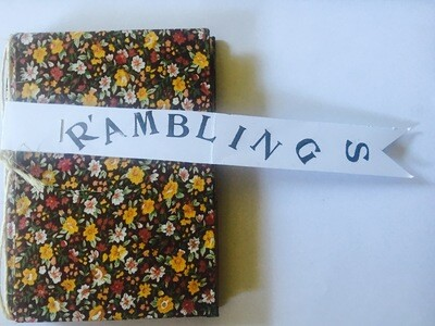 Poetry Book - Ramblings by Tim Train