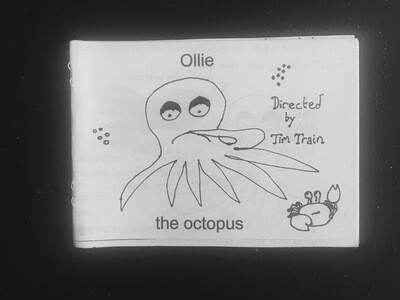 Poetry Zine - Ollie the Octopus by Tim Train