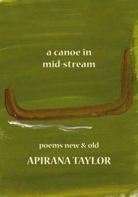 A canoe in mid stream- Apirana Taylor