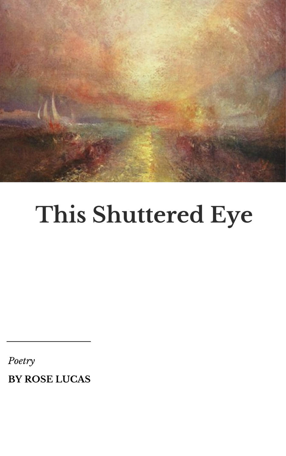This Shuttered Eye - Rose Lucas