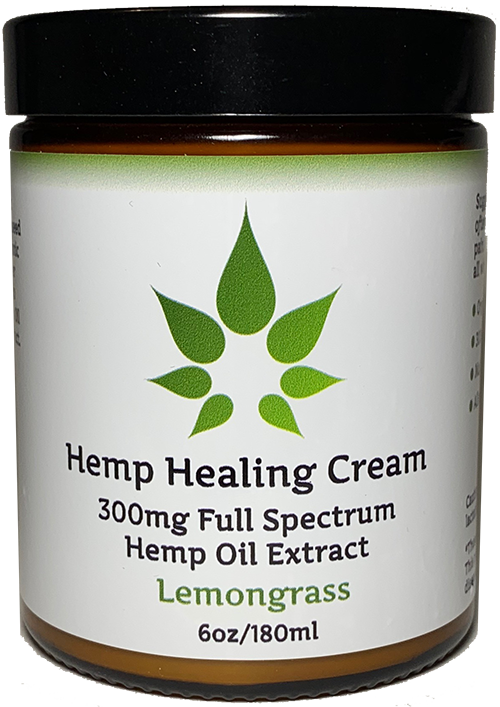 MedJoy™ Full Spectrum Hemp Cream (300mg Full Spectrum) - Soothing Relief 6oz