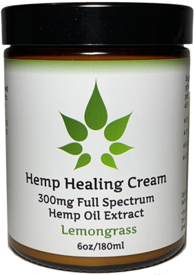 MedJoy™ Full Spectrum Hemp Cream (300mg Full Spectrum) - Soothing Relief 6oz