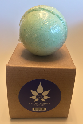 MedJoy™ 50mg CBD Bath Bombs (Recover)