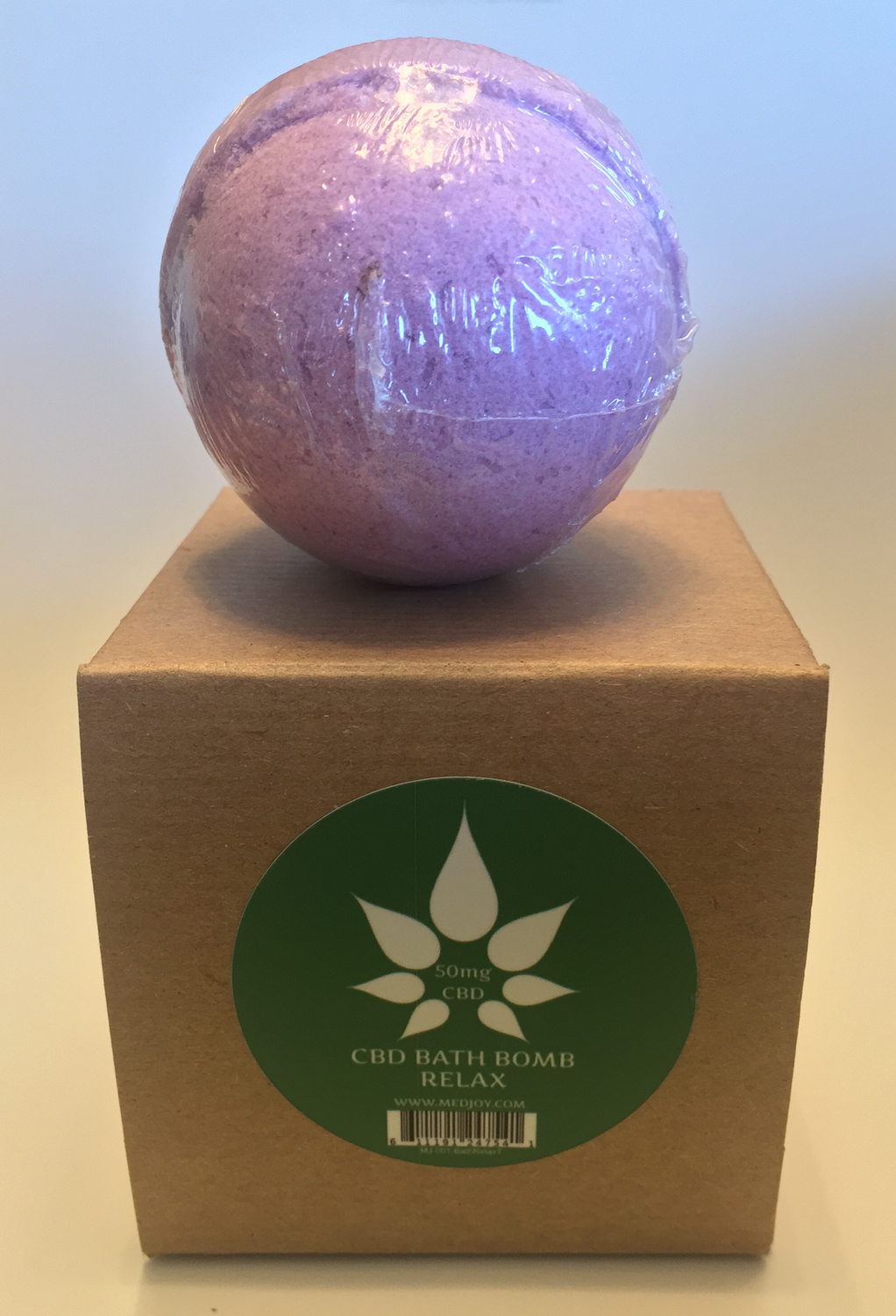 MedJoy™ 50mg CBD Bath Bombs (Relax)