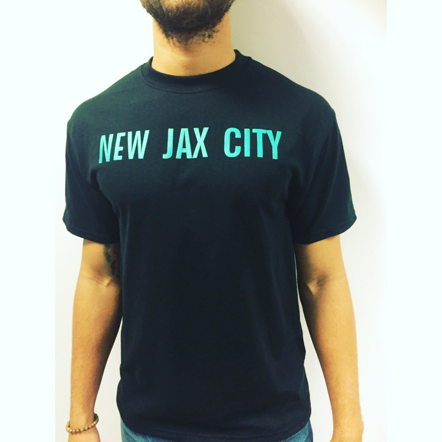 New Jax City - Tshirt (Black)