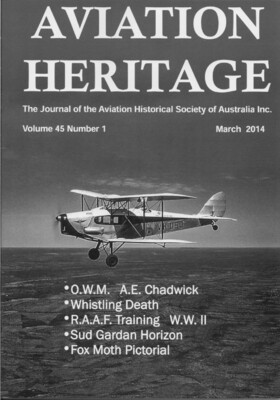 Aviation Heritage Vol. 45 No. 1 (March 2014)