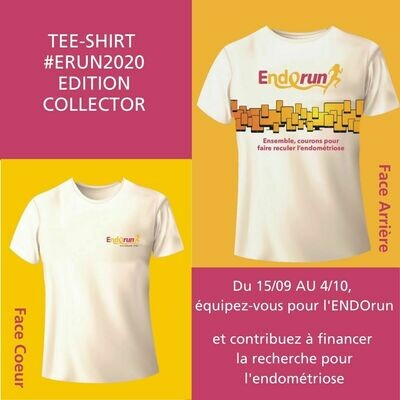 *** PRE-VENTE *** Tee shirt E-Run 2020 EDITION LIMITEE COLLECTOR