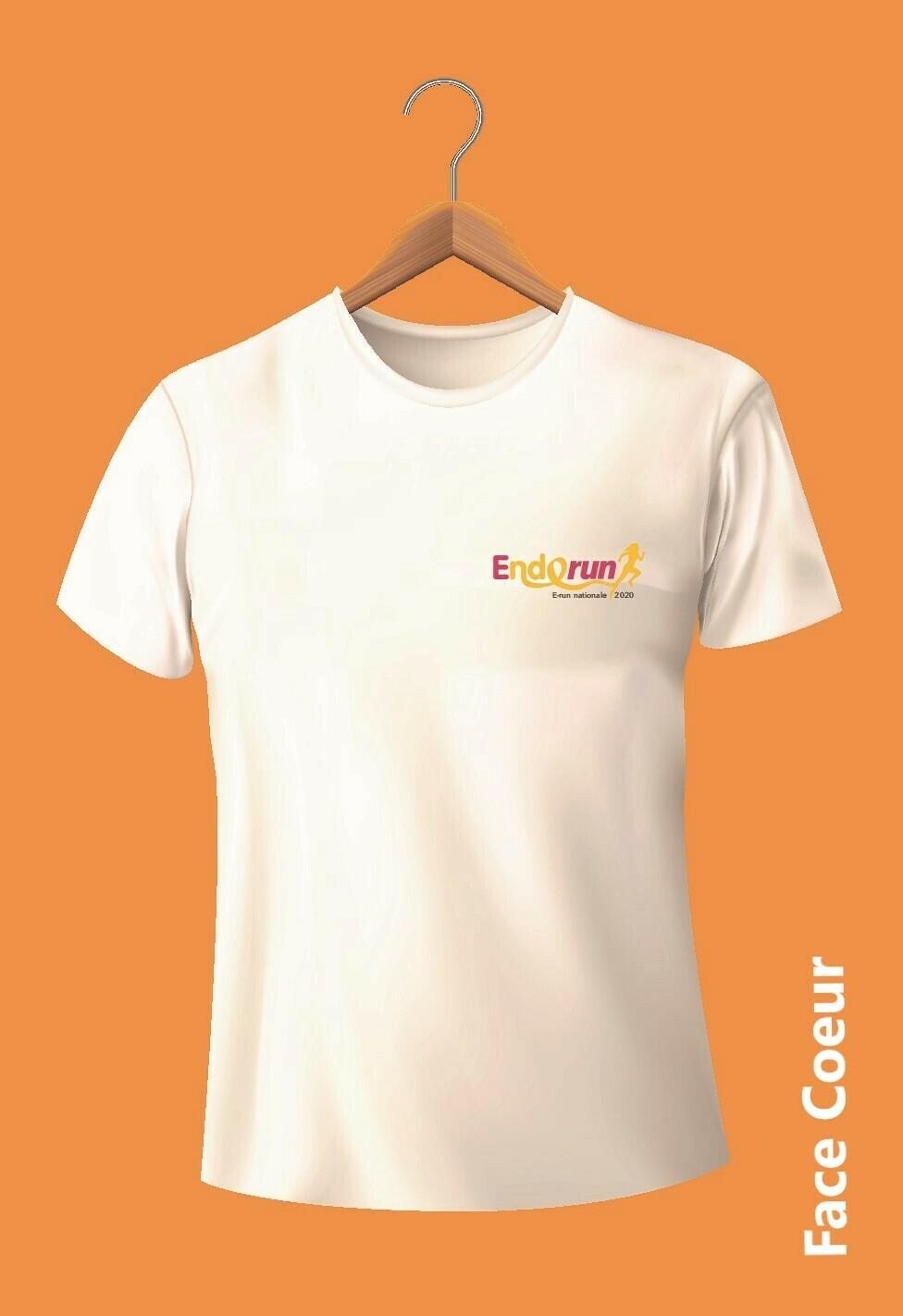 Tee shirt E-Run 2020 Modèle FEMME Taille 2XL *** LIQUIDATION DES STOCKS ***