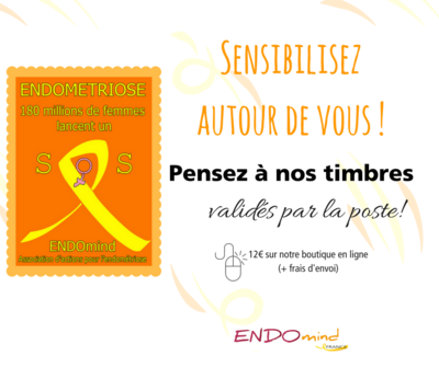 Timbres sensibilisation Endométriose