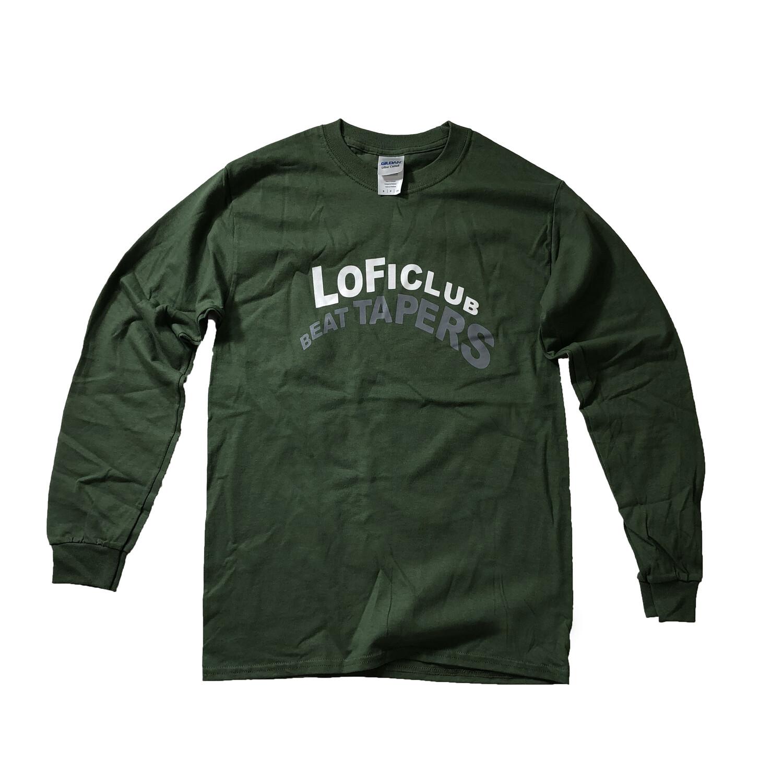 LOFICLUB BEATTAPE tee L/S : ML GREEN