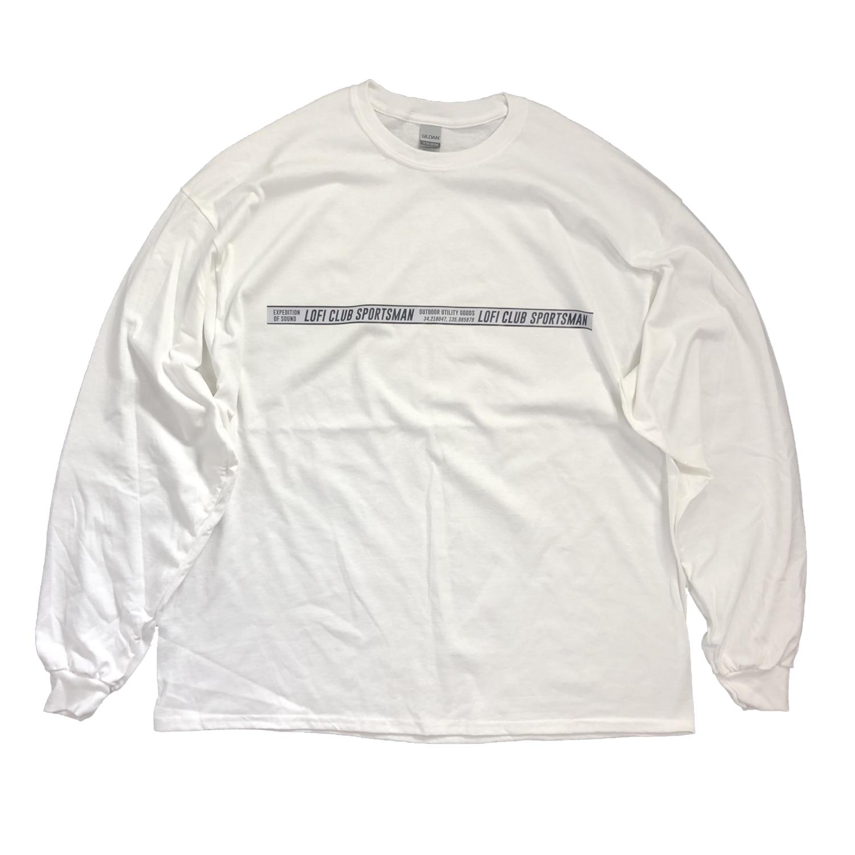 LOFI CLUB SPORTSMAN L/S WHITE
