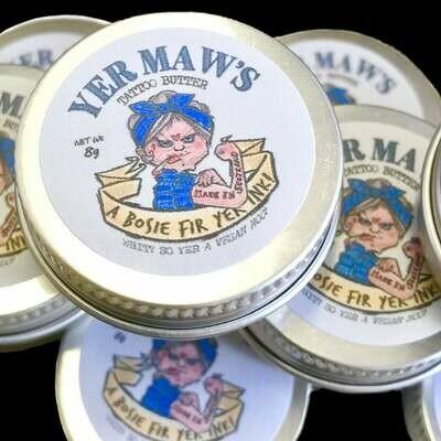 Yer Maws Tattoo Butter