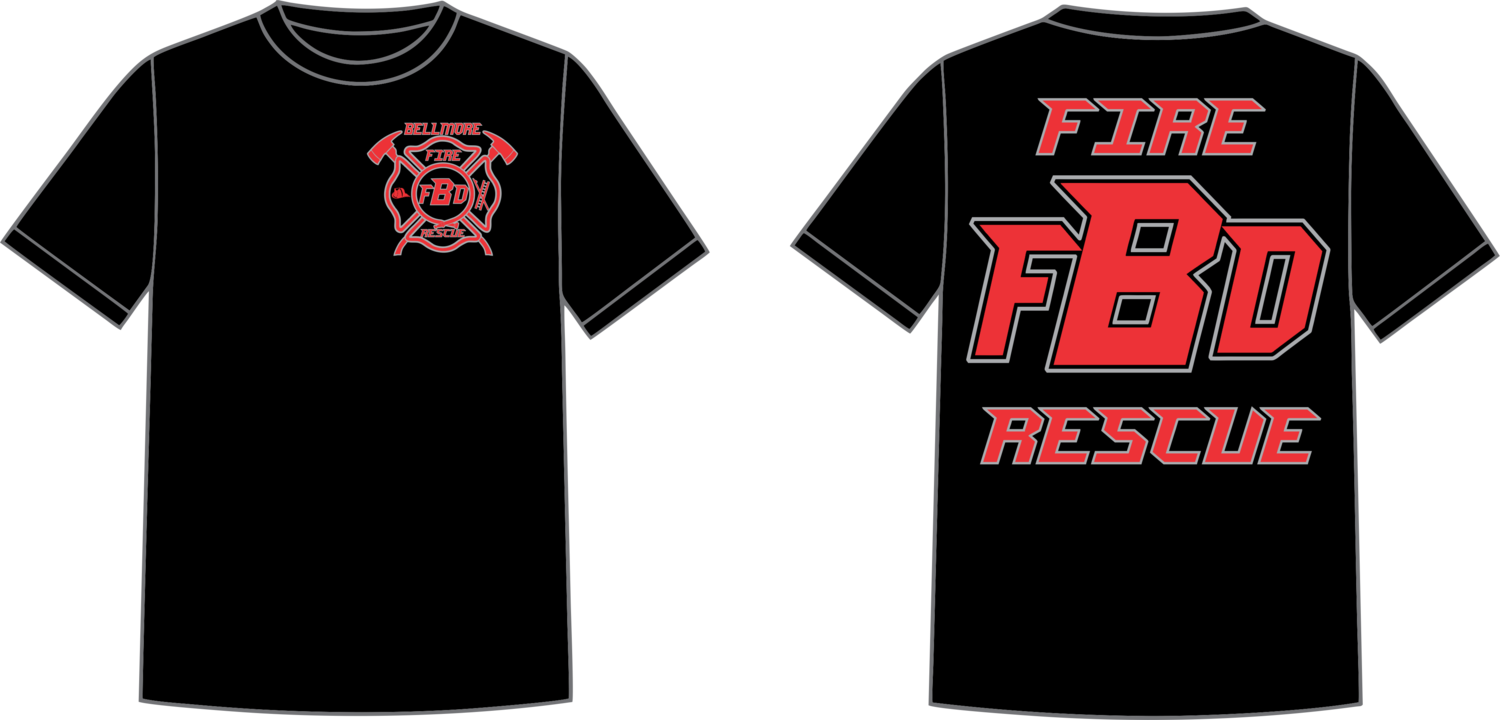 Bellmore Fire Short Sleeve T-Shirt