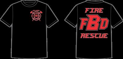 Bellmore Fire Short Sleeve T-Shirt