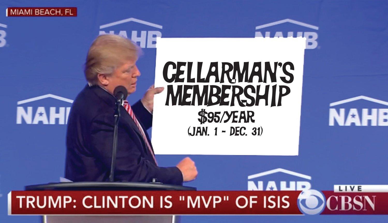 Cellarman's Club Membership
