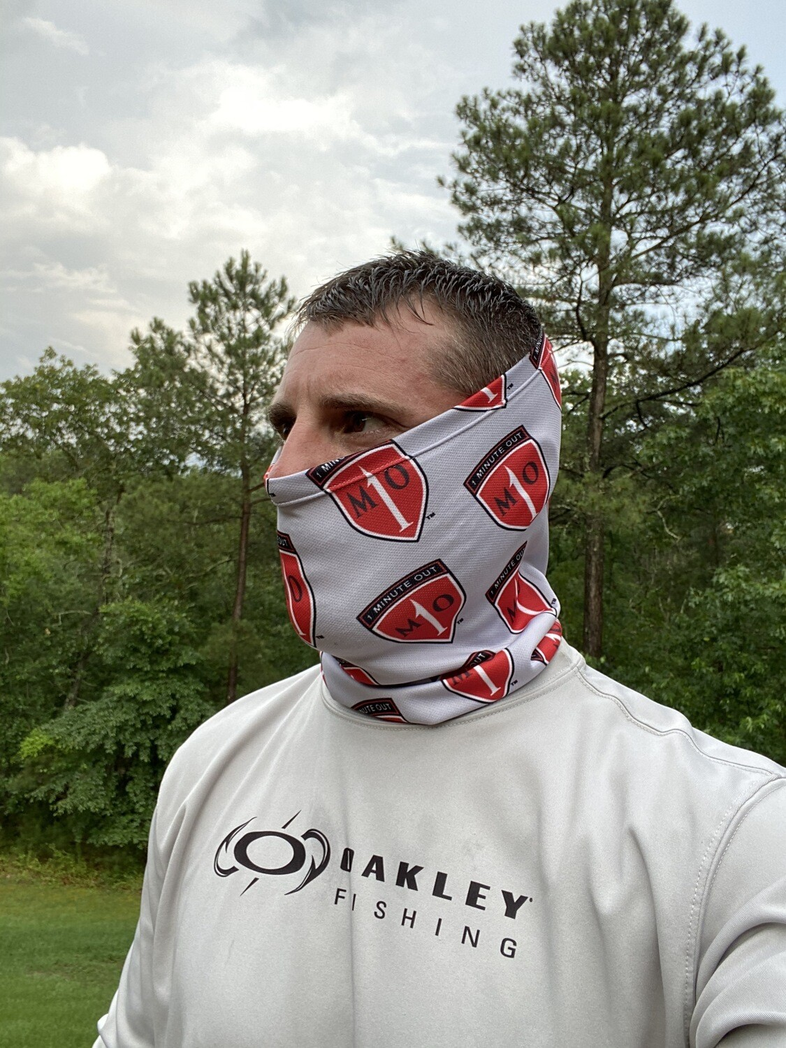 1 Minute Out Neck Gaiter