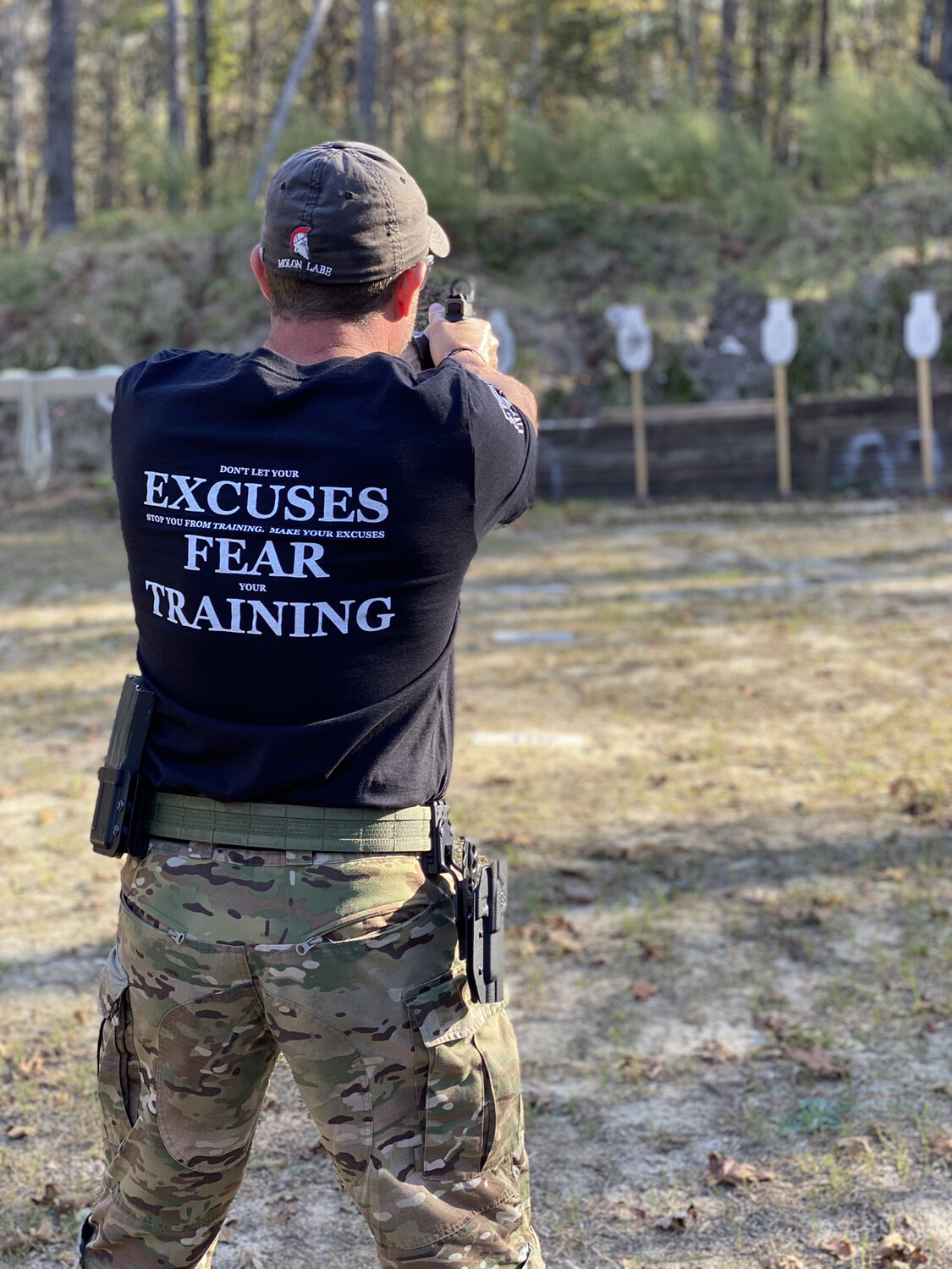 Excuses Fear Training T-Shirt