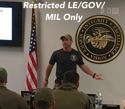 NVG Instructor Level Course Oct 23-25 2021 GrandView, TX