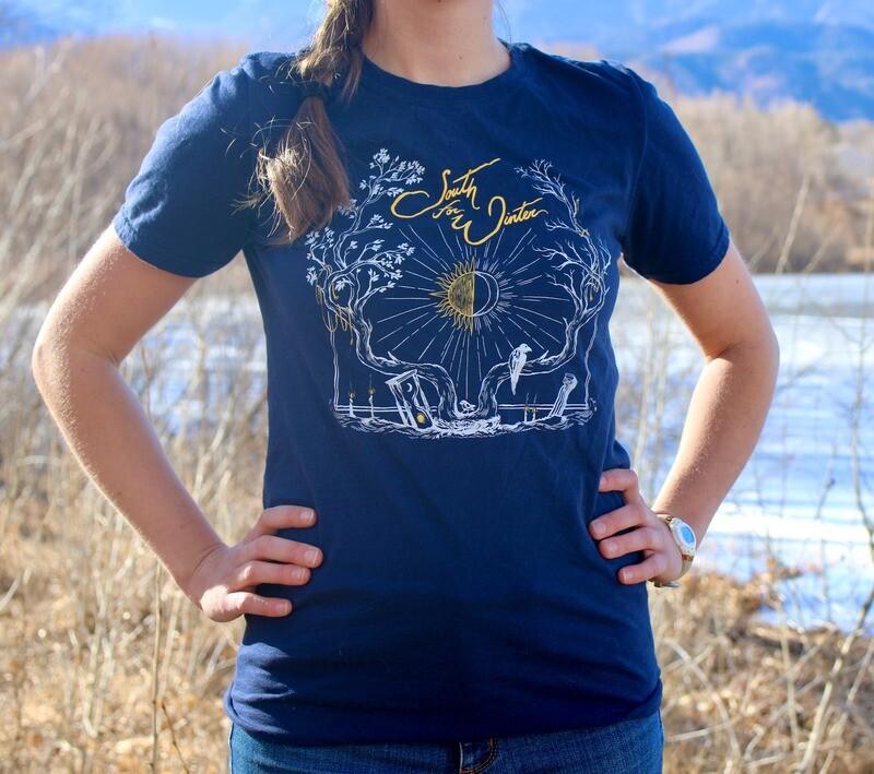 Navy Luxumbra T-Shirt
