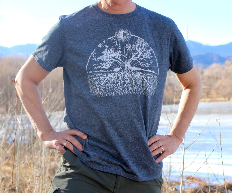 Gray Luxumbra T-Shirt