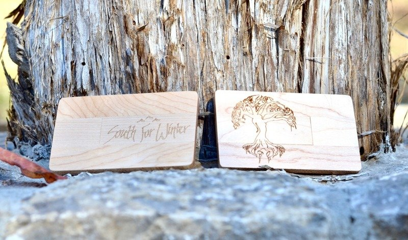 Wooden USB with Entire Discography
