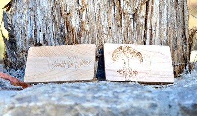 Wooden USB (2 EP's)