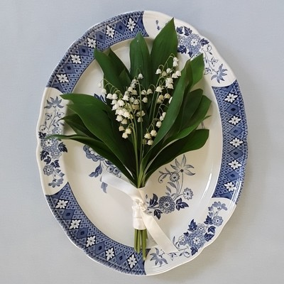 Vintage Blue and White J&G Meakin