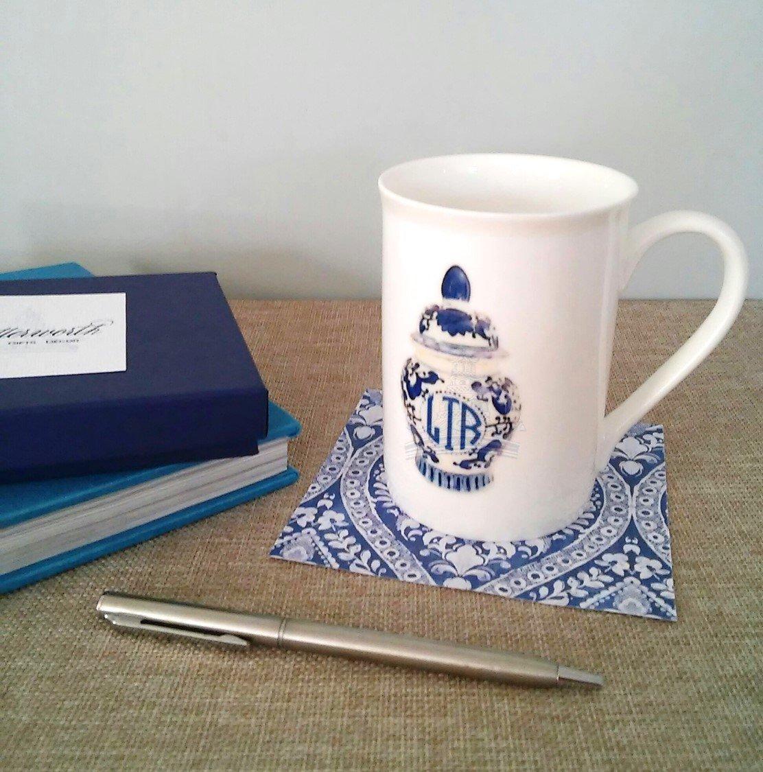 Monogram Ginger Jar Mug by Letterworth