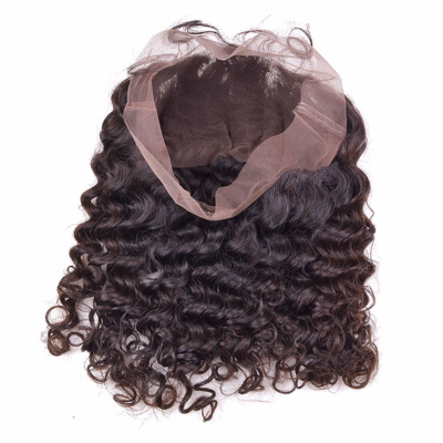 360 Frontal - Deep Wave, Swiss Lace