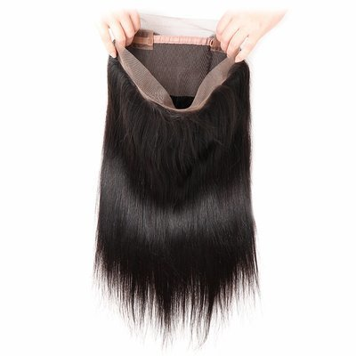 360 Frontal - Straight, Swiss Lace