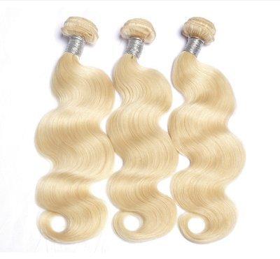 Blonde - Bundle - Body Wave Hair Extensions