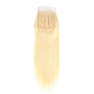 Blonde - Closure - Straight, Swiss Lace