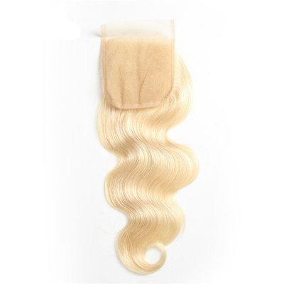 Blonde - Closure - Body Wave, Swiss Lace